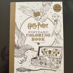 Harry Potter postcard book